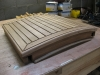 Teak sliding hatch