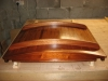 Mahogany varnished hatch