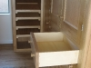Oak dressing room and drawers